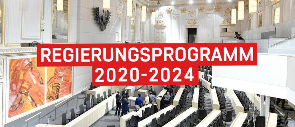 Regierungsprogramm 2020-2024